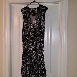 Black and white jumpsuit (reposh)